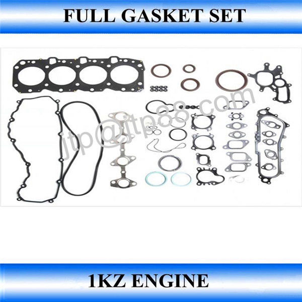 Complete Engine Gasket Kit For Janpanese Type 1KZ 1KZT 1KZTE OEM 04111-67020